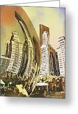 Chicago Skyline Greeting Card