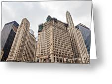 Chicago Towers Greeting Card