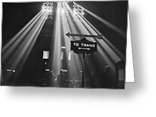 Chicago Union Train Station - 1943 Greeting Card