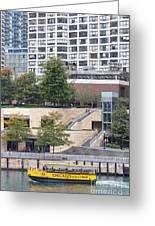Chicago Watertaxi Greeting Card