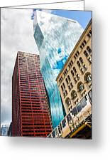 Chicago's South Wabash Avenue  Greeting Card