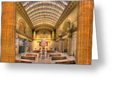Chicagos Union Station Greeting Card