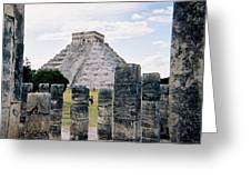 Chichen Itza 3 Greeting Card
