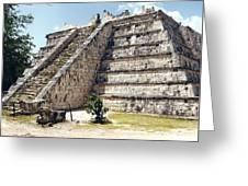 Chichen Itza Mexico 4 Greeting Card