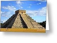 Chichen Itza Pyramid Greeting Card