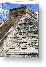 Chichen Itza Up Close Greeting Card