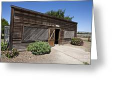 Chicken Coop At Ardenwood Historic Farm Greeting Card