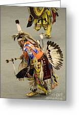 Pow Wow Chicken Dancers 3 Greeting Card