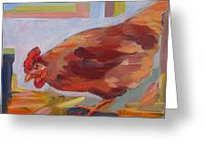 Chicken Little Greeting Card