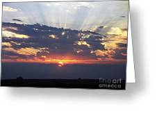 Chico Sunrise Greeting Card