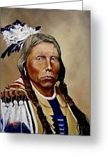 Chief Crazy Horse Greeting Card