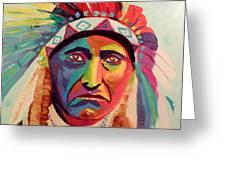 Chief Joseph Greeting Card