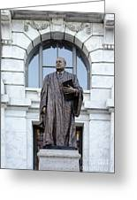 Chief Justice Edward Douglas White Statue- Nola Greeting Card
