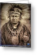 Chief Keokuk  Greeting Card
