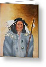 Chief Noneck Greeting Card