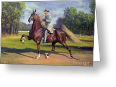 Chief Of Spindletop Greeting Card