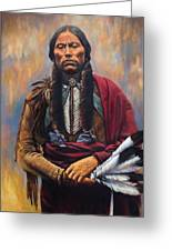 Chief Quanah Greeting Card