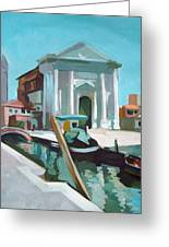 Chiesa San Barnaba Greeting Card