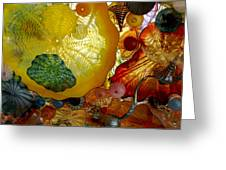 Chihully Art Glass Greeting Card