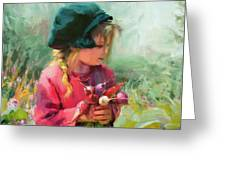 Child Of Eden Greeting Card