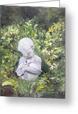 Child Of Peace II Greeting Card by Shirley Lawing