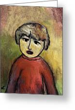Child Portrait Greeting Card