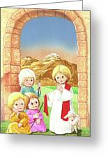 Child Shepherds Greeting Card