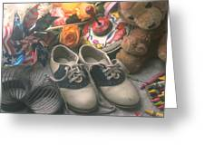 Childhood Memories Greeting Card by Garry Gay
