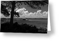 Childhood Memories On The Water Greeting Card