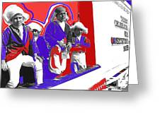 Children Dressed As Founding Fathers 2   Bi-centennial Of The Constitution Tucson Arizona Greeting Card