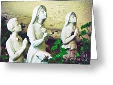 Children Of Fatima Greeting Card