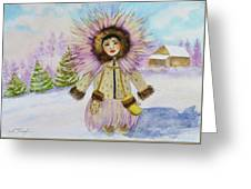 children of the North Greeting Card
