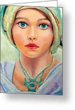 Children Of The World_russia Greeting Card