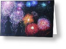 Children On The 4th Of July Greeting Card