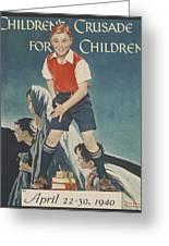 Children's Crusade For Children Greeting Card
