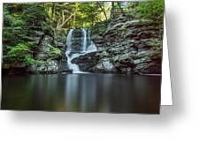 Child's Park Waterfall 2 Greeting Card