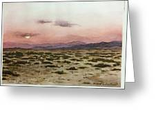 Chile Desert Greeting Card