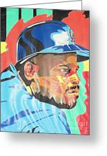 Chilli Davis Greeting Card by Damion Powell