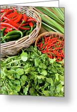 Chillies 07 Greeting Card