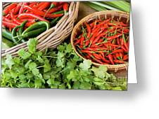 Chillies 08 Greeting Card