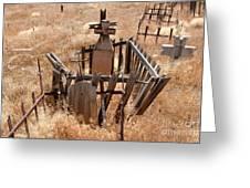 Chimayo Cemetery Greeting Card