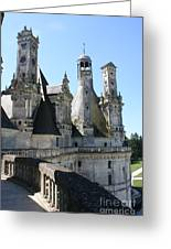 Chimney From Chambord - Loire Greeting Card