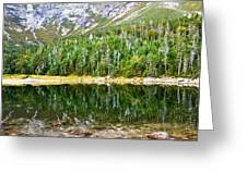 Chimney Pond Reflections 2 Greeting Card