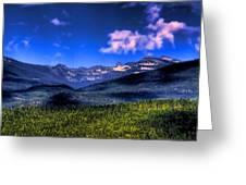 Chimney Rock At Priest Lake Greeting Card