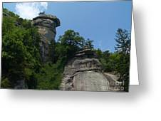 Chimney Rock State Park Nc Greeting Card