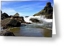China Beach Greeting Card