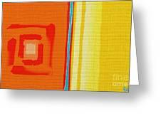 China Gold Greeting Card