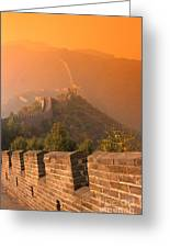 China, The Great Wall Greeting Card