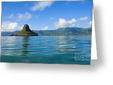 Chinamans Hat From Ocean Greeting Card