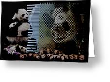 China's Rebirth Of The Mighty Panda Greeting Card